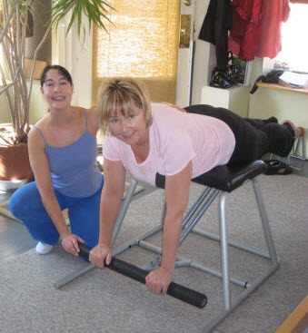 Gemmas Pilates and Movement Training - Low Chair: Prone Arm Press
